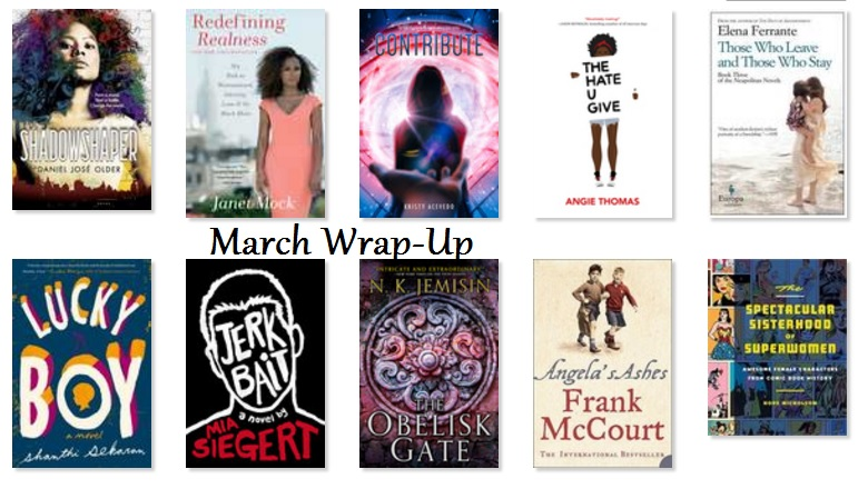 March Wrap-Up and Bad Poetry Line Request